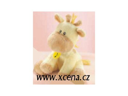 Žirafa plyšová hrací