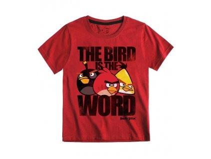 Angry Birds trička červená model A