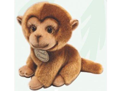 Plyšová hračka opička hnědá