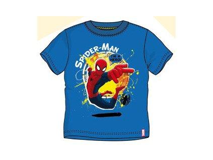 Spiderman tričko modré model A
