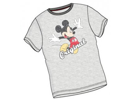 Mickey Mouse tričko šedé A