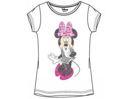 Minnie Myška trička bílé