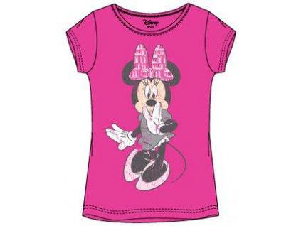 Minnie Myška tričko růžové A1