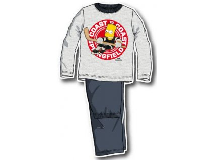 Bart Simpson pyžama