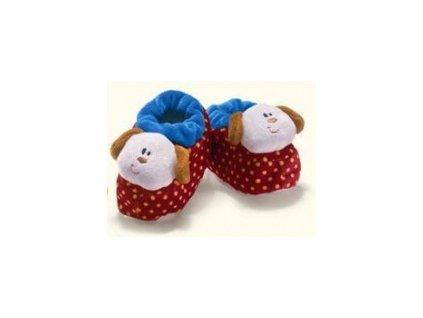 Capáčky kojenecké s pejskem