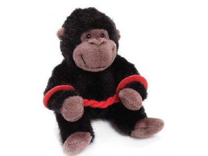 Gorilka plyšová v poutech