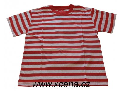 Námořnická dětská trička červené