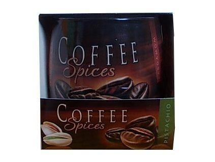 Svíčky coffee spices pistácie 100g
