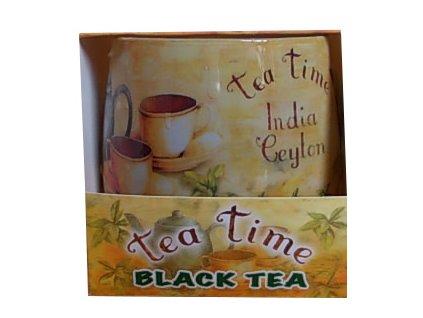Svíčka black tea 100g