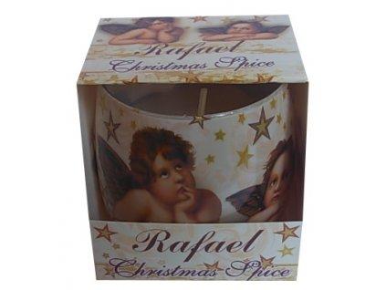 Svíčka ve skle Rafael Christmas 100g