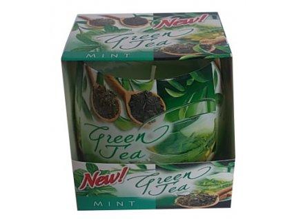Vonná svíčka ve skle Green Tea 100g