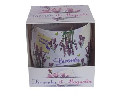 Vonná svíčka ve skle Lavender 100g