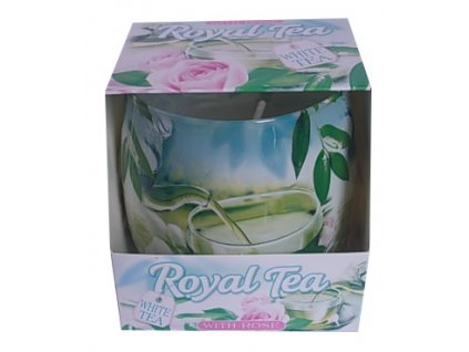 Vonná svíčka ve skle Royal Tea 100g