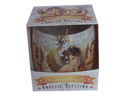 Vonná svíčka ve skle Angelic 100g