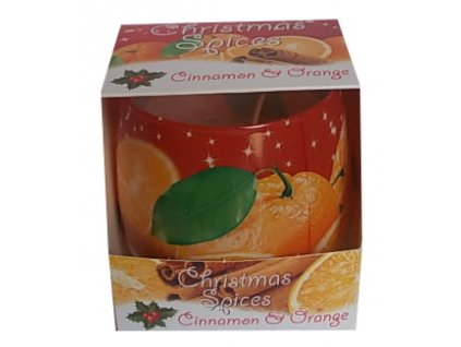 Vonné svíčky Christmas Cinnamon Orange