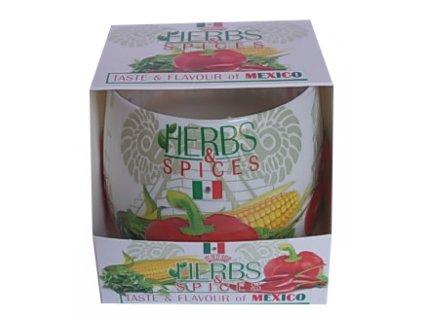 Vonná svíčka Herbs Mexiko 100g