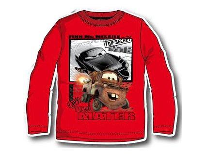 Cars tričko Disney červené