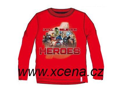 Heroes, Avengers tričko červené