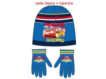Čepice a rukavice Cars nová kolekce