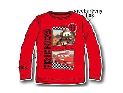 Chlapecké tričko Cars červené nová kolekce