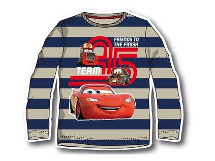 Cars dětské tričko licenční s pruhy