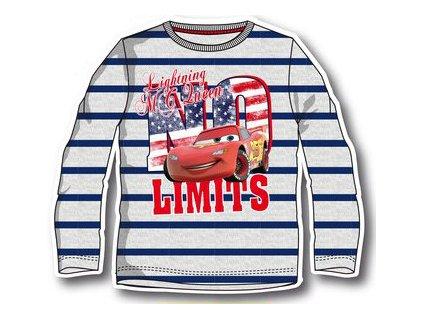 Cars dětské licenční tričko s pruhy