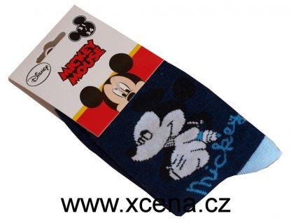Mickey Mouse ponožky modré model A