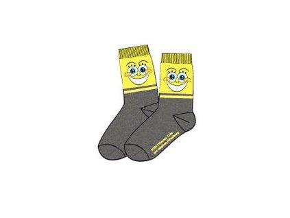 Sponge Bob ponožky tmavě šedé typ A