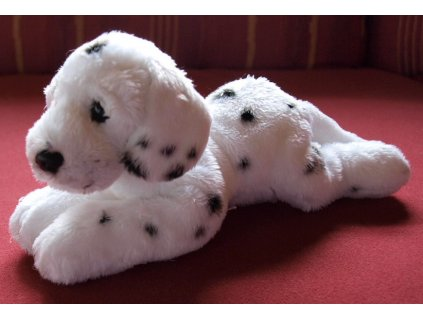 Dalmatin plyšová hračka