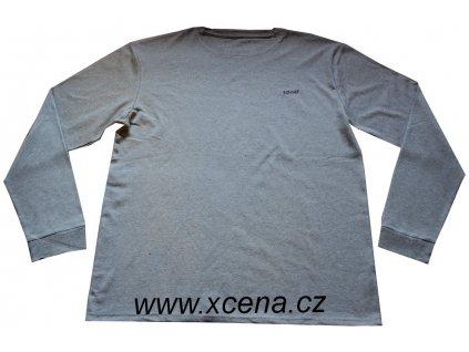 Tričko bavlněné šedé