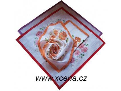 Bavlněné kapesníky 30x30cm