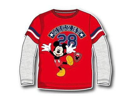Mickey Mouse tričko červené model A