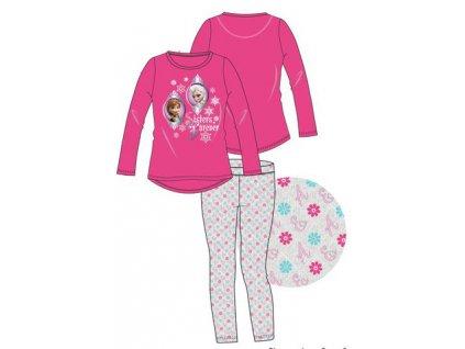 Ledové království Anna a Elsa pyžamo