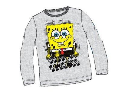Sponge Bob tričko šedé model A