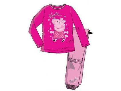 Peppa prasátko pyžamo růžové