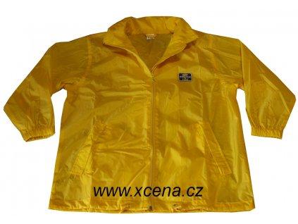 Dětská sportovní bunda žlutá