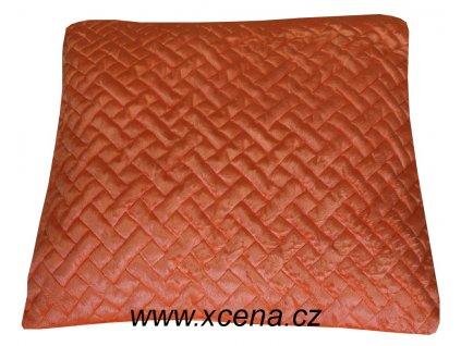 Povlak oranžový 40x40cm