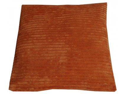 Povlak oranžový 40x40