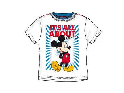 Mickey Mouse tričko dětské bílé