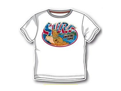 Dětské tričko Scoby-Doo bílé