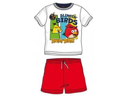 Tričko a šortky komplet Angry Birds