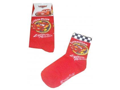 Cars ponožky červené model A