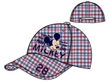 Mickey kšiltovka čepice červená