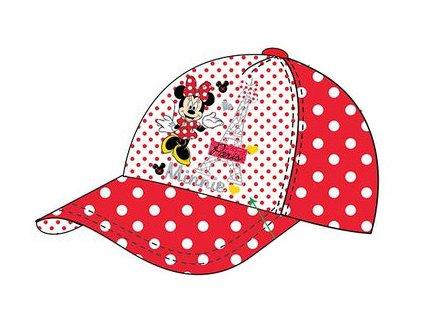 Minnie kšiltovka čepice červená