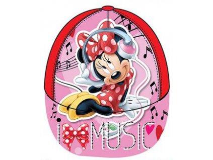 Minnie kšiltovka čepice červená model A