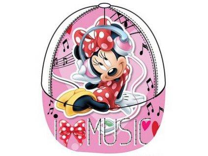 Minnie kšiltovka čepice růžová model A