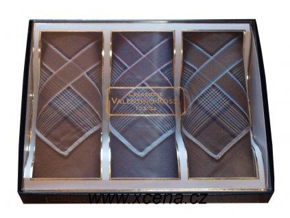 Bavlněné kapesníky pánské 40x40cm