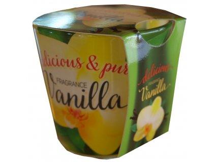Svíčka delicious fragrance 100g