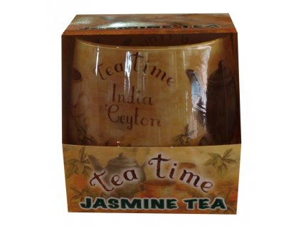 Svíčka tea time jasmín 100g