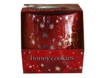 Svíčka christmas moments honey 100g